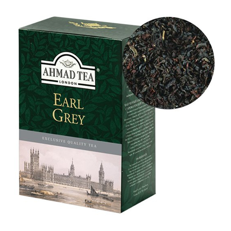AHMAD Tēja  Black Tea. Earl Grey
