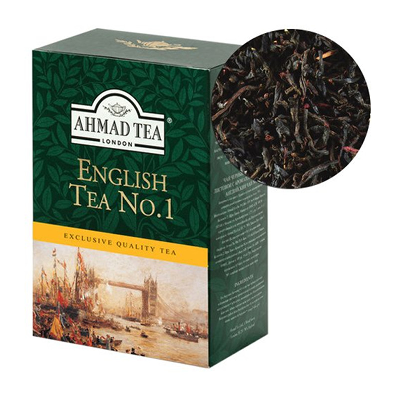 AHMAD Tēja Black Tea. English Tea No.1