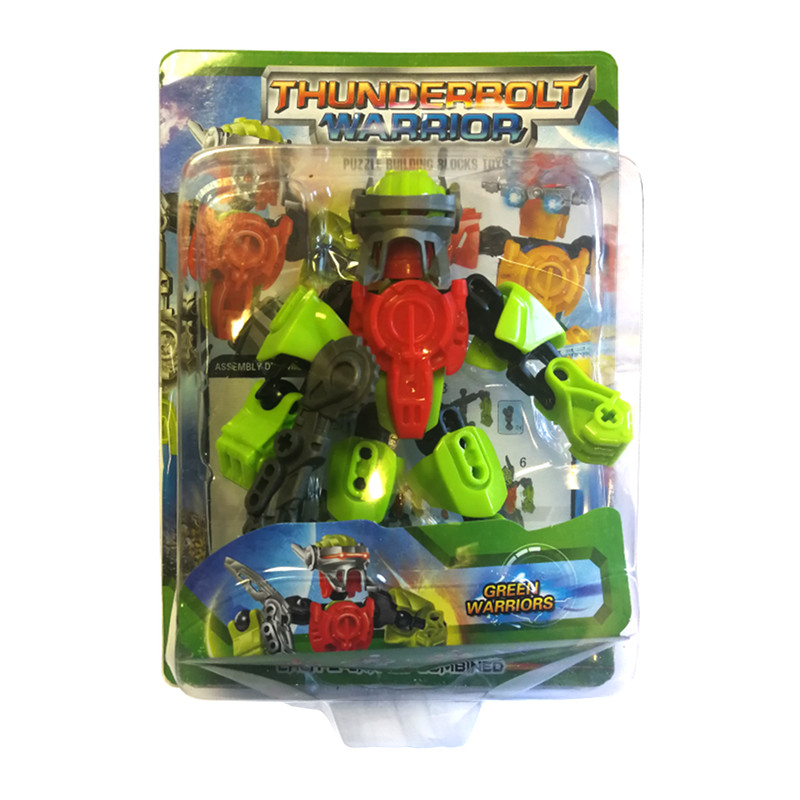 "Robots transformers ""THUNDERBOLT WARRIOR"""